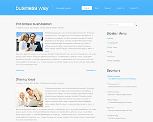 BusinessWay Website Template