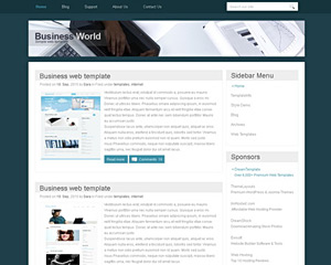 BusinessWorld Website Template
