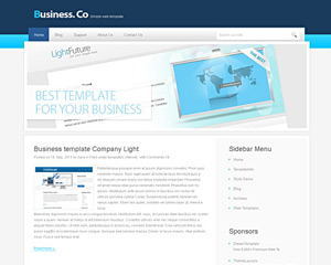 BusinesWebDesign Website Template