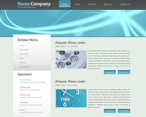 DuetPlasma Website Template