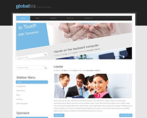 GlobalHouse Website Template