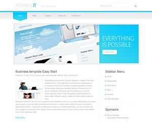 ITdesk Website Template