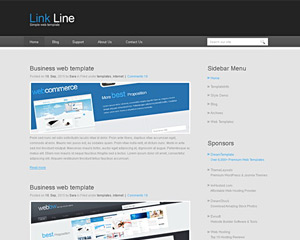 LinkLine Website Template