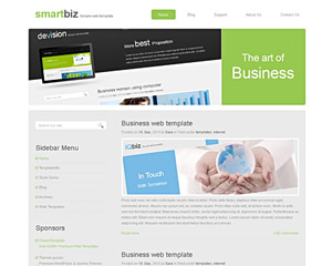 SmartDesign Website Template