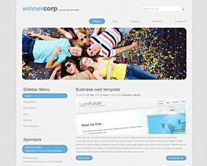 SocialNet Website Template