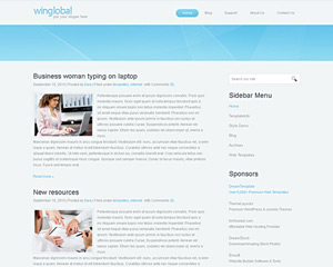 WinGlobal Website Template